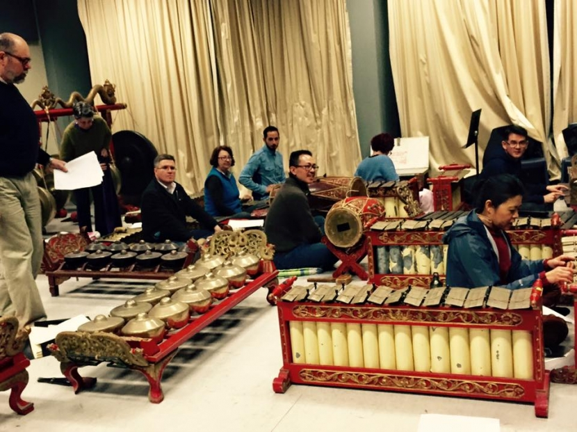 Gamelan (picture from Langen Suka Sydney Gamelan Association)