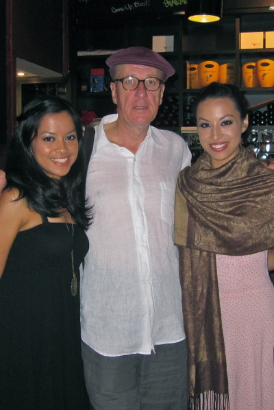 Tata, Geoffrey Rush, Alfira at About Face Festival, Belvoir St Theatre, Sydney January 2011