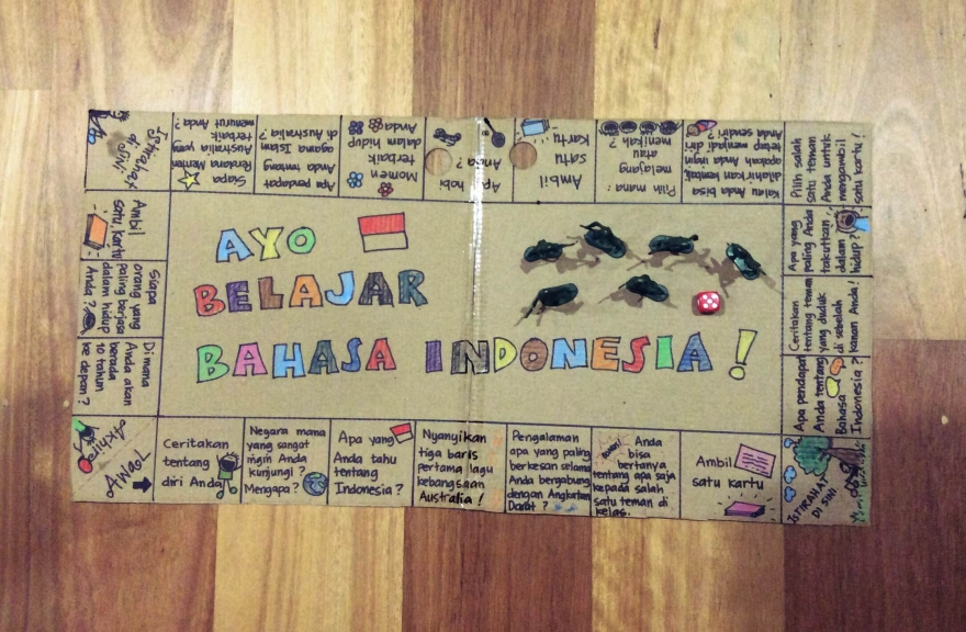 Board game Bahasa Indonesia