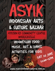 ASYIK BAZAAR JUNE 22nd 2013